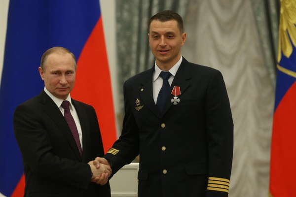 Владимир Путин и Константин Парикожа