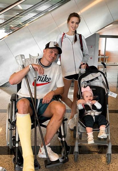 В мае спортсмен получил травму