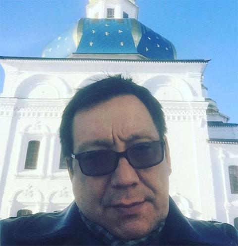 Егор Кончаловский крестил 4-месячного сына
