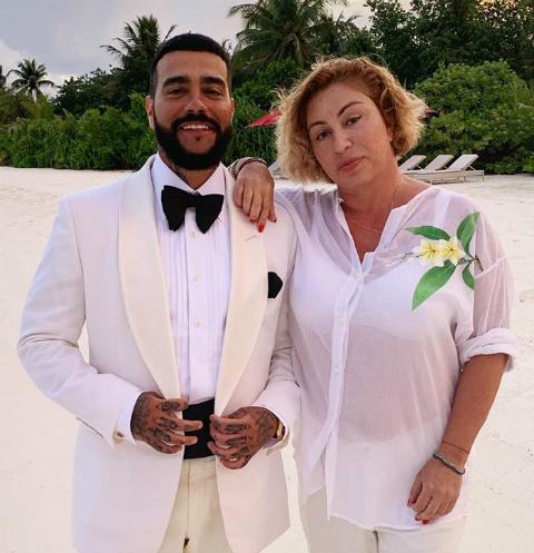 Тимати и его мама Симона