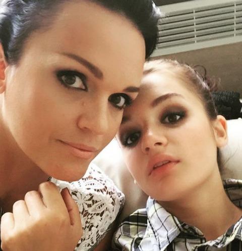 Певица Слава разрешила 17-летней дочери жить с парнем