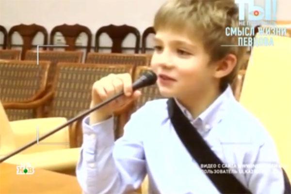 Дмитрий Певцов не хочет, что маленький Елисей чувствовал себя главным человеком