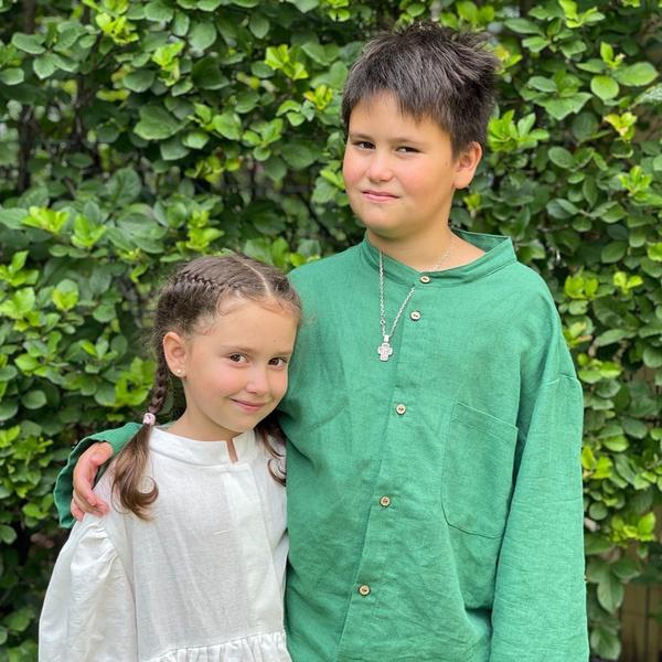 Актриса воспитывает двоих детей от Павла Прилучного.