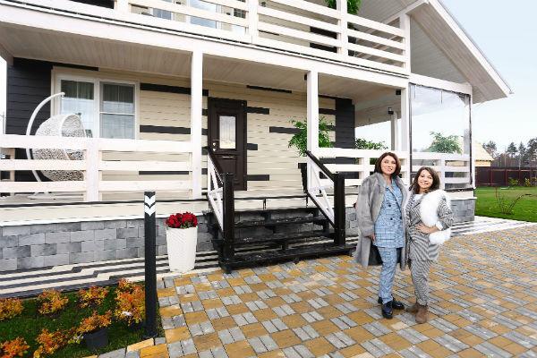 В новом доме Сябитовой часто гостит ее дочь