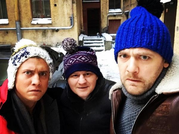 Съемки сериала проходили зимой в Санкт-Петербурге