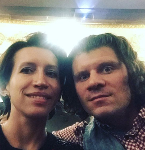 Елена Борщева с мужем Валерием Юшкевичем