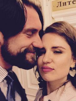 Валерия Гай Германика с мужем Вадимом Любушкиным