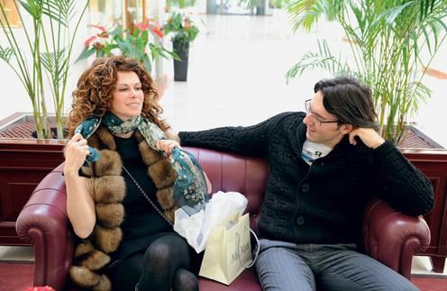 Регина Мянник и Андрей Малахов