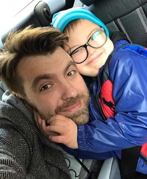 Александр Семин с сыном