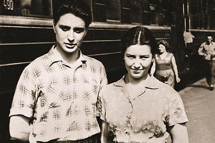 С первой женой Смехов познакомился  в подмосковном доме отдыха