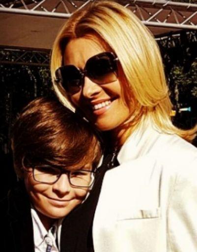Анжелика Агурбаш отправила сына в англоязычную школу
