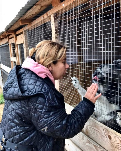 Марина обожает животных