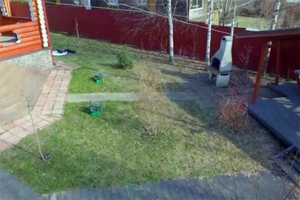Так участок Владимира Этуша выглядел до преображения