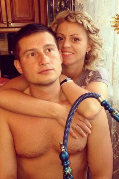 Оксана Стрункина в прошлом году подарила любимому сына