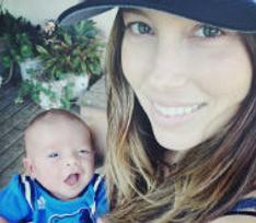 Джастин Тимберлейк показал новорожденного сына