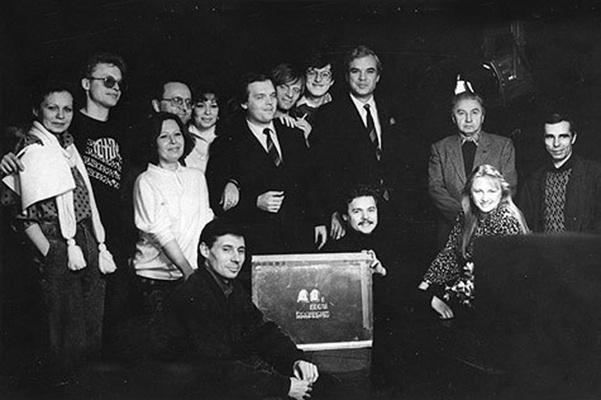 Владимир Молчанов стал работать на телевидении с конца 80-х