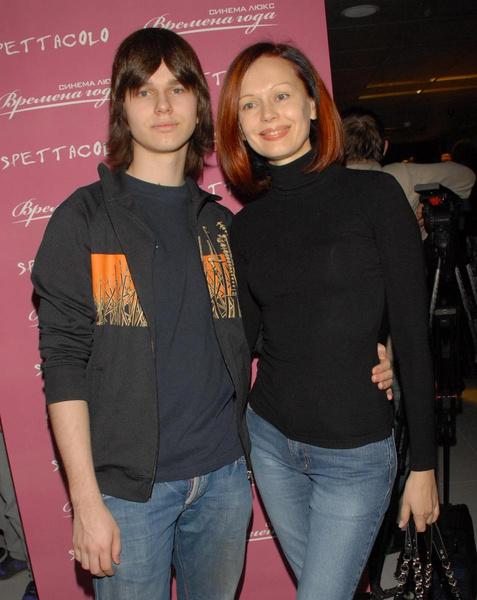 Ирина Безрукова вместе с сыном Андреем