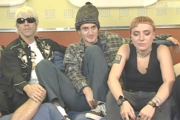 Тутта Ларсен и группа Red Hot Chili Peppers