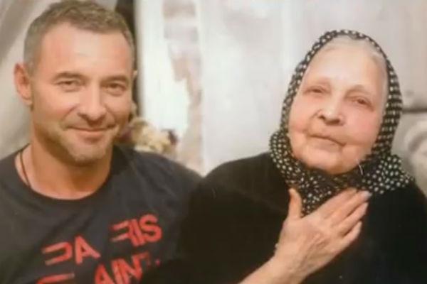 Максим Дрозд с матерью