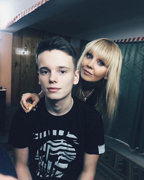 Арсений Шульгин и певица Валерия