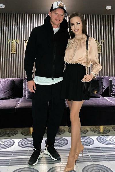 Сейчас Тарасов счастлив рядом с моделью Анастасией Костенко