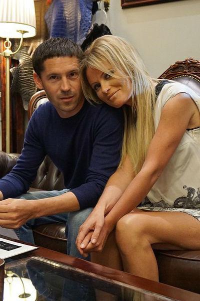 Дана Борисова с супругом Андреем