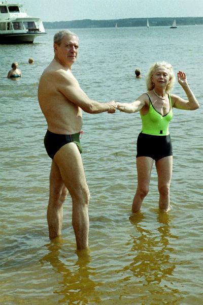 Александр Лазерев быстро понял, что Светлана Немоляева его судьба