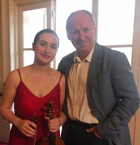 Екатерина Цуканова с отцом
