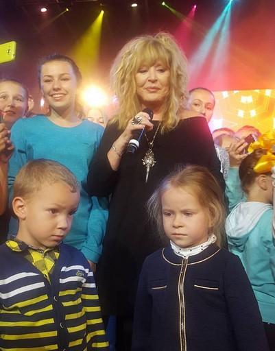 Алла Пугачева отметила День города в Подольске