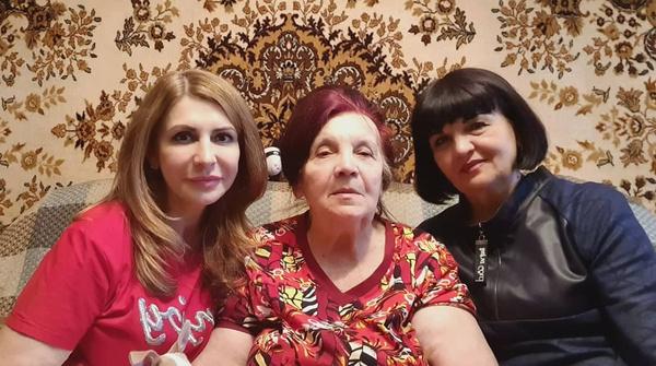 Семейное фото Агибаловой