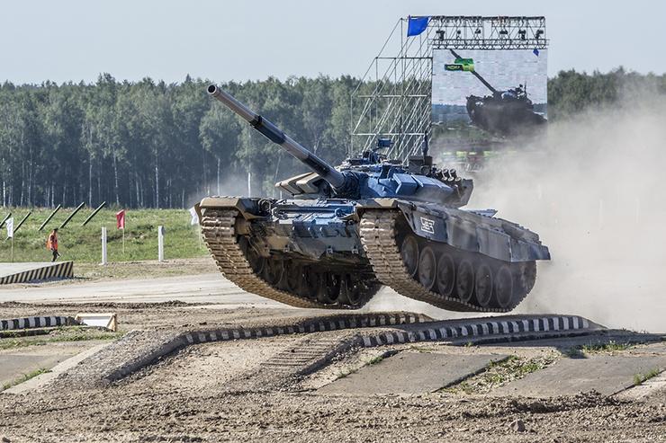 Танковый биатлон 2019