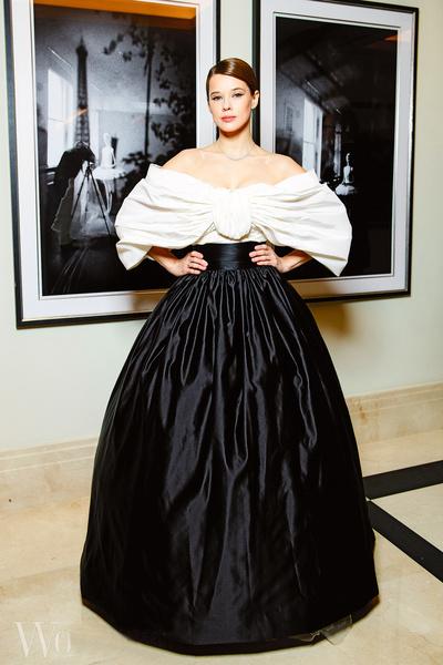 Актриса на премии журнала OK! «Больше чем звезды», Москва