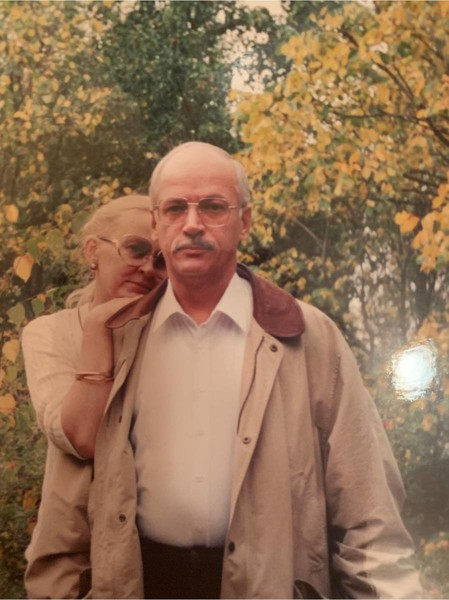 Игорь Выхухолев с женой