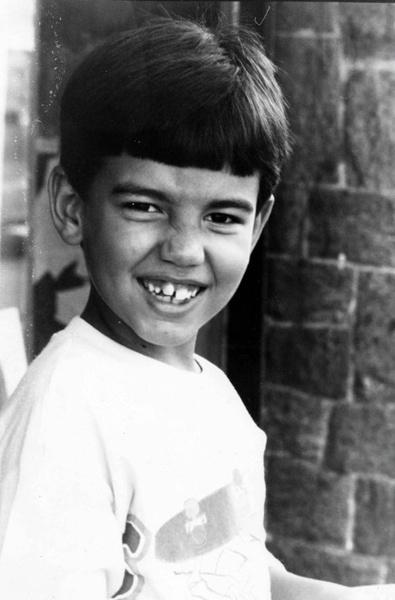 Родриго Алвес в детстве