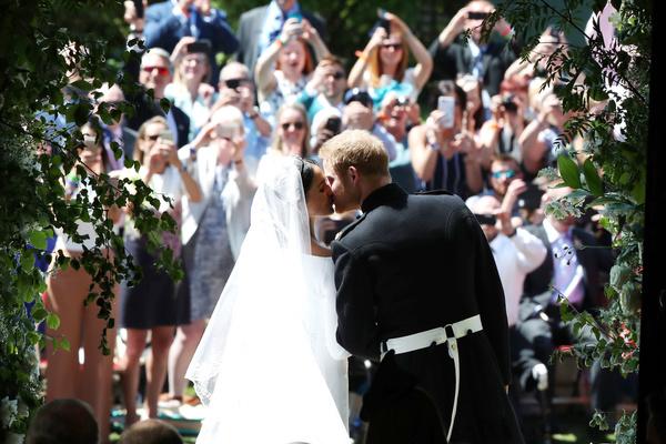 Свадьба состоялась 19 мая 2018 года