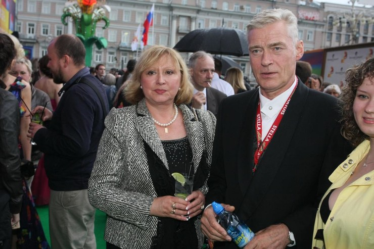 Брак Щербакова и его избранницы длится более 40 лет