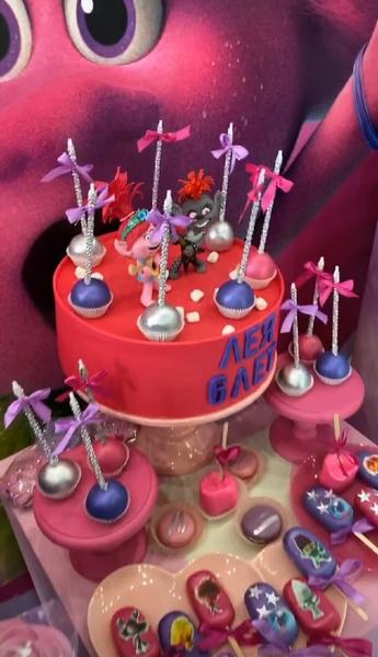 Рок-вечеринка в стиле «Троллей»: вторая часть празднования дня рождения Леи Самойловой