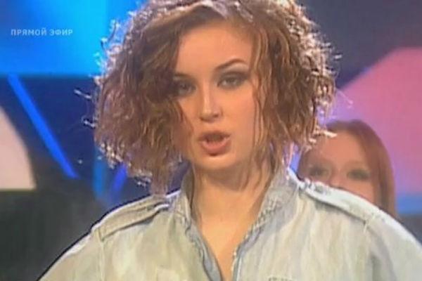 Полина на «Фабрике звезд» в 2003 году