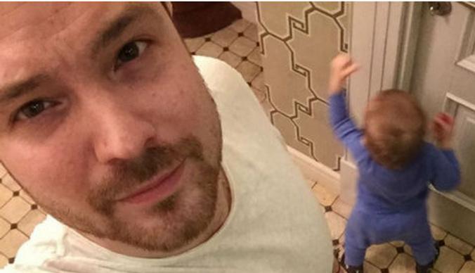 Алексей Чадов наслаждается отцовством