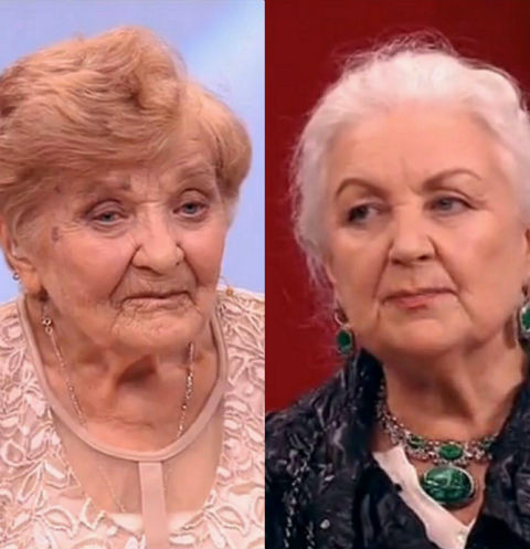 Мария Шумская и Лидия Чащина