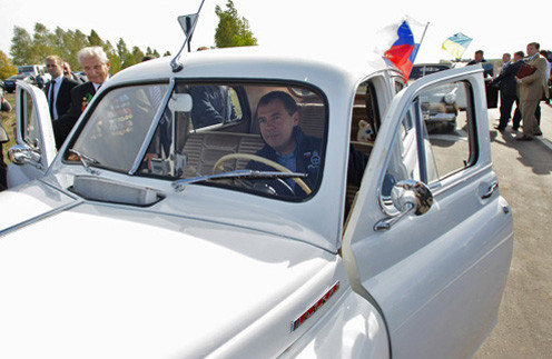 17 сентября 2010 года: «Сегодня проехали по трассе Москва – Киев, через границу в Сумскую область Украины».
