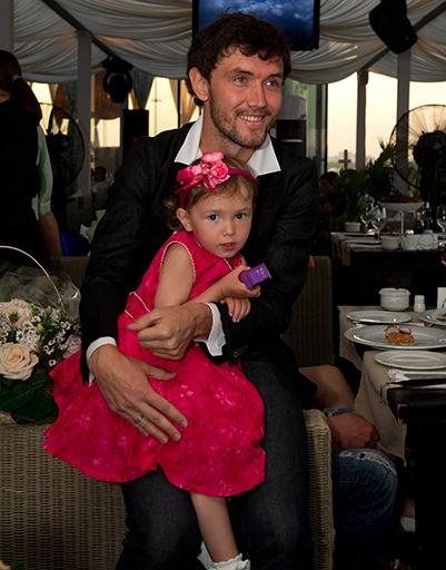 Юрий Жирков с дочерью Миланой