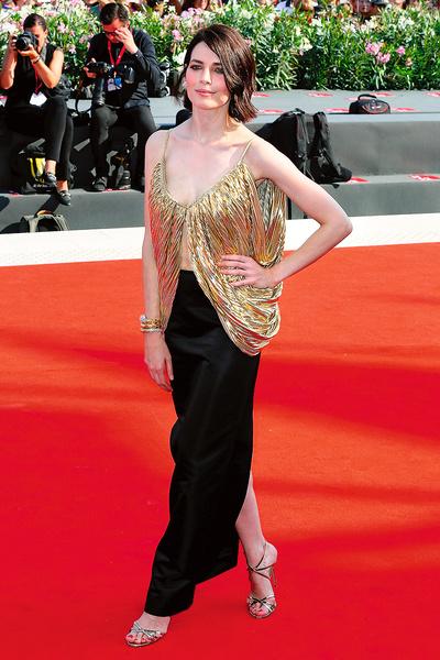 Актриса на Венецианском кинофестивале