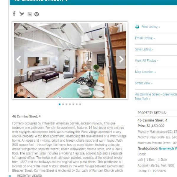 Квартира стоимостью 1,5 миллиона