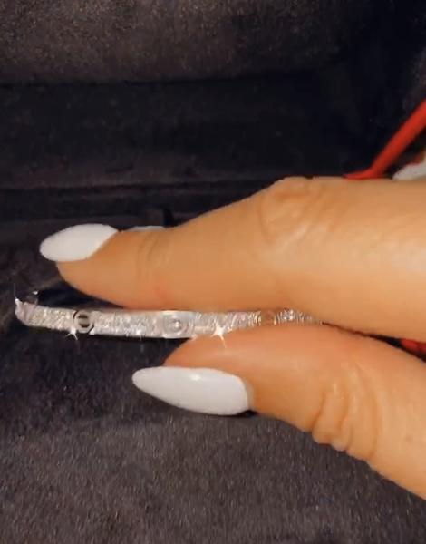 Бриллиантовый браслет Cartier