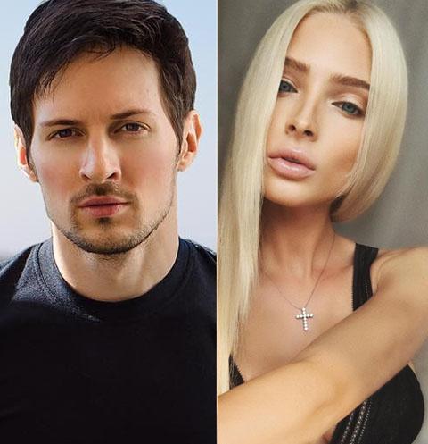 Павел Дуров и Алена Шишкова