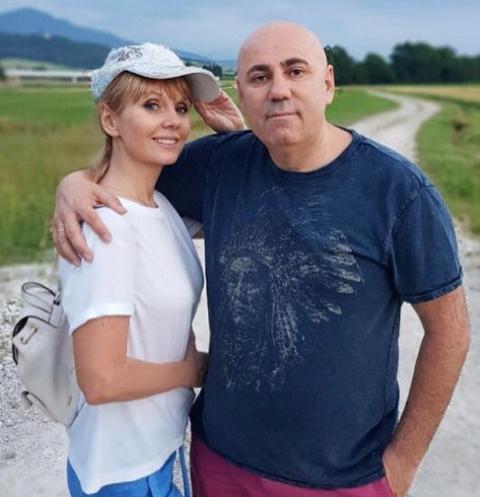 Валерия и Иосиф Пригожин