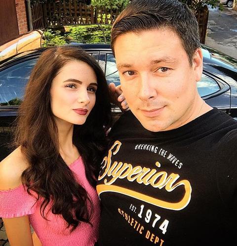 Андрей Чуев с девушкой Викторией