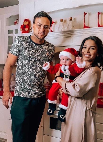 Алексей и Екатерина с сыном Саввой