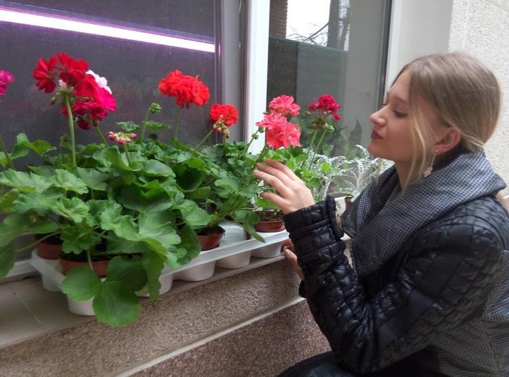 В Москве Адлелина жила одна